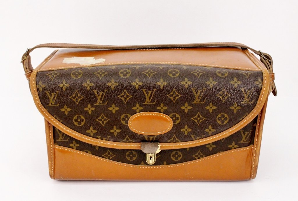 Louis Vuitton Hardsided Monogrammed Toiletry Bag