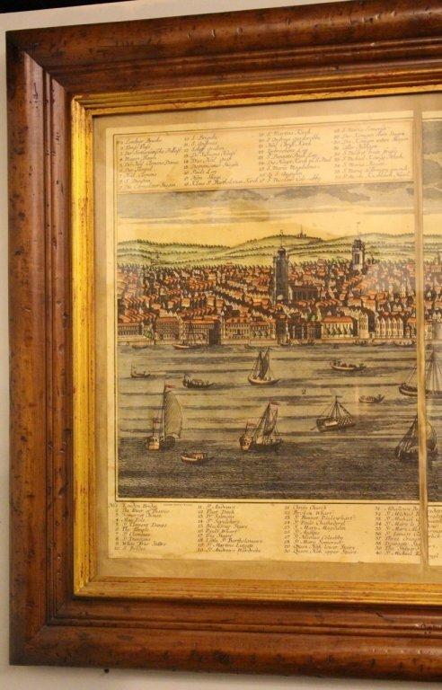 Georg Balthasar Probst, Map of London - 2