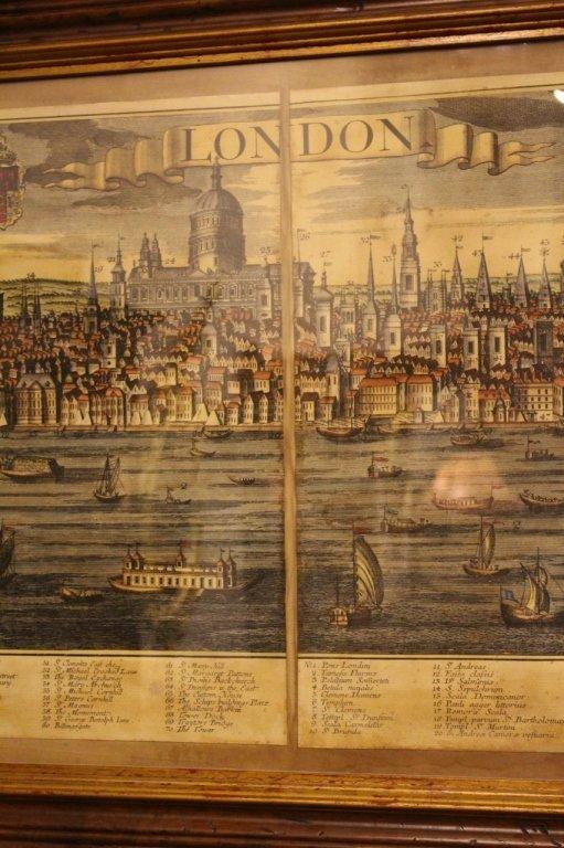 Georg Balthasar Probst, Map of London - 4