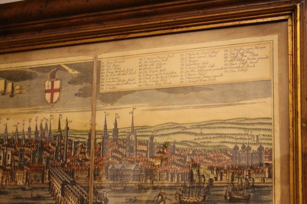 Georg Balthasar Probst, Map of London - 5