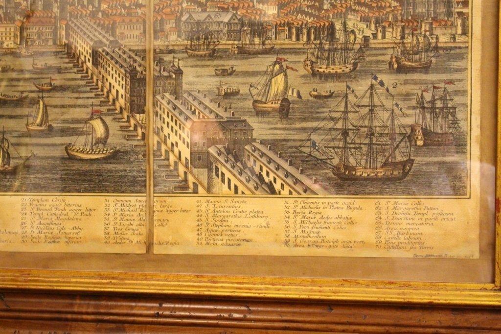 Georg Balthasar Probst, Map of London - 6