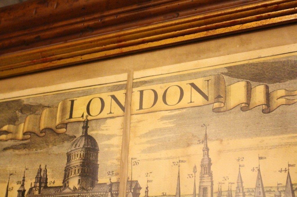 Georg Balthasar Probst, Map of London - 7
