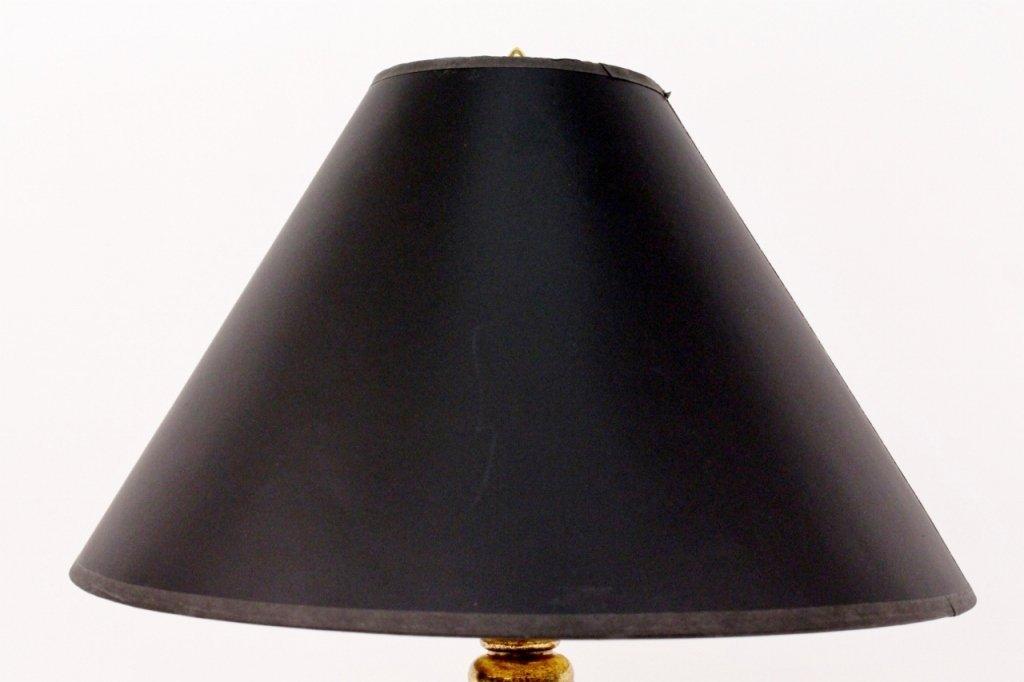 Chapman Ram's Horn & Brass Table Lamp - 2