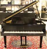 Steinway & Sons Ebonized Grand Piano