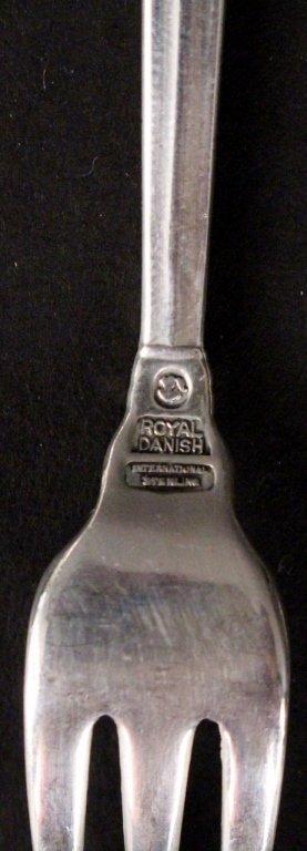 International Royal Danish Sterling Flatware - 4