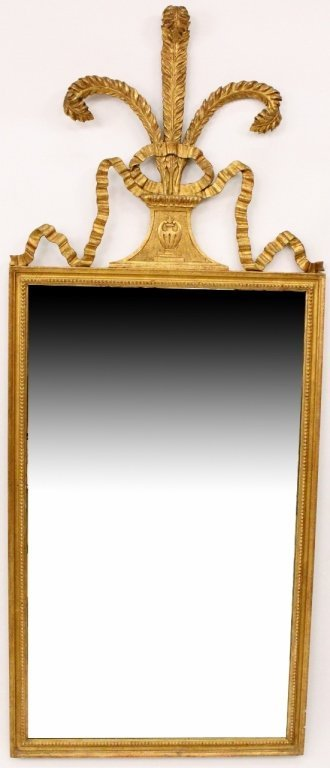 Prince of Wales Feather Mirror