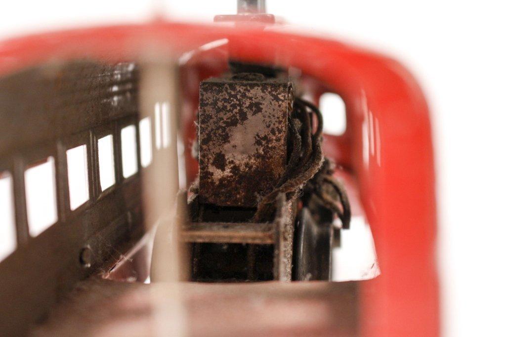 Red Lionel Jr. Train & New York Central Engine - 2