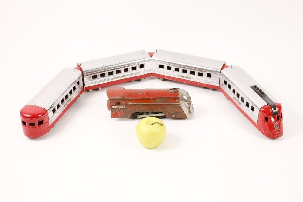 Red Lionel Jr. Train & New York Central Engine - 3
