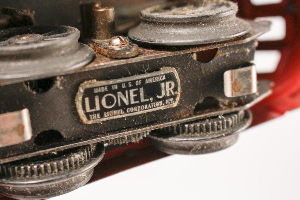 Red Lionel Jr. Train & New York Central Engine - 9