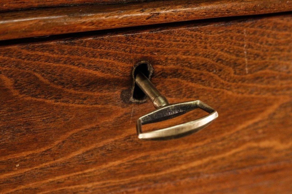American Oak Plantation Style or Clerk's Desk - 7