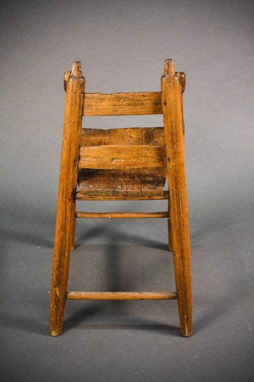 American, 19th C. Primitive Child's Chair
