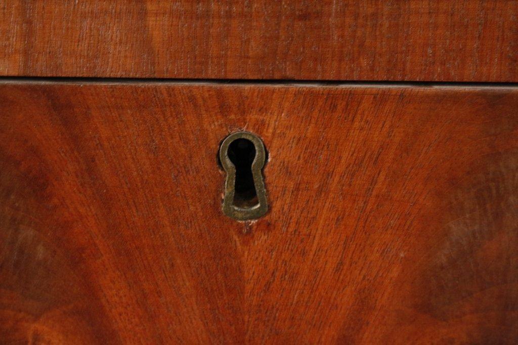 American Empire Mahogany Secretary Bookcase - 6