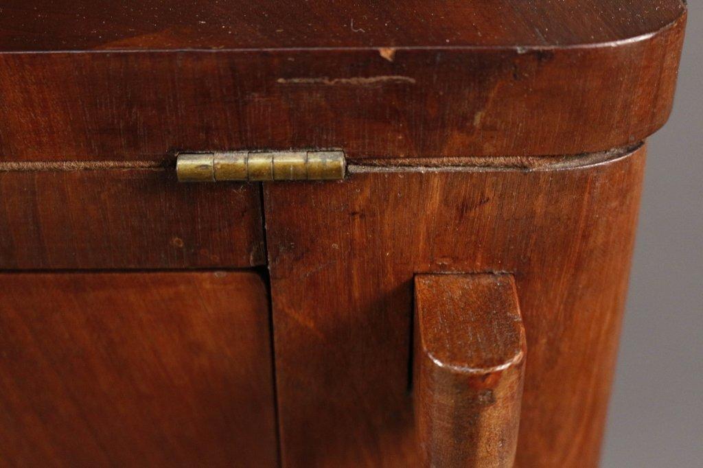 American Empire Mahogany Secretary Bookcase - 8
