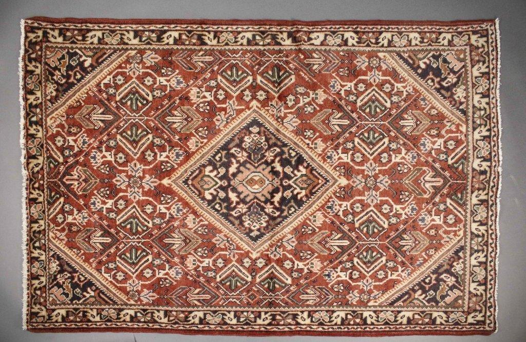 Hand Woven Persian Meshkabad Rug