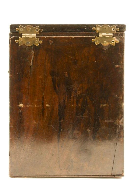 English 19th C. Mahogany Knife Box - 4