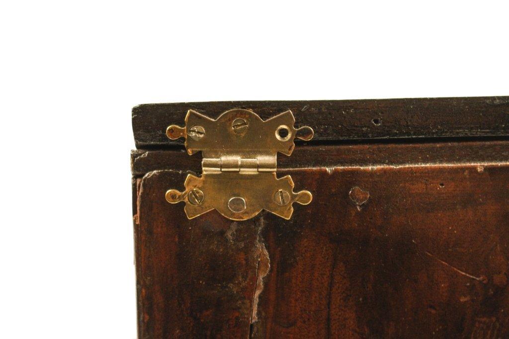 English 19th C. Mahogany Knife Box - 5