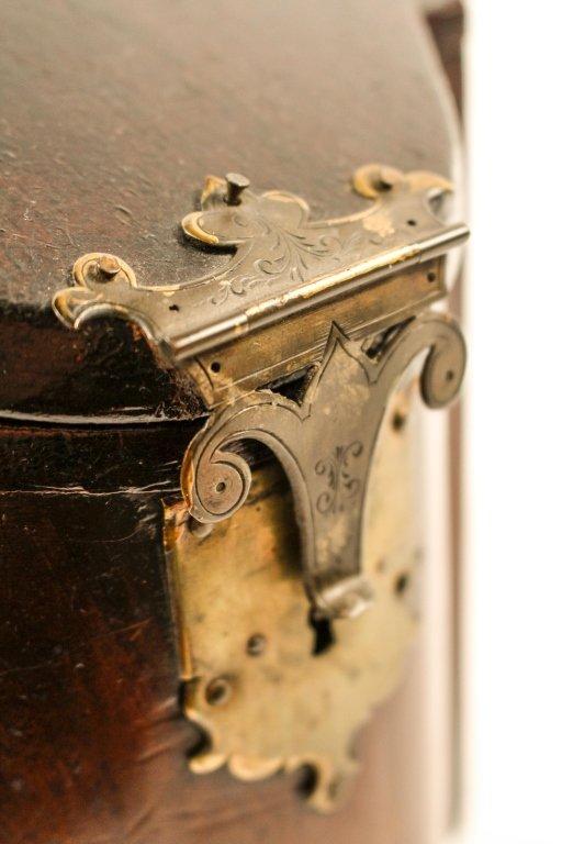English 19th C. Mahogany Knife Box - 8