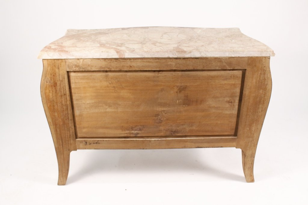 French Louis XV Style Marble Top Commode - 5