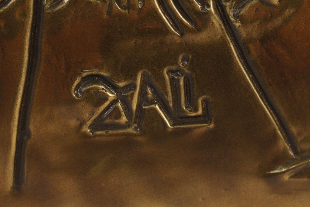 Salvador Dali Ten Commandments Bronze Plaque - 2