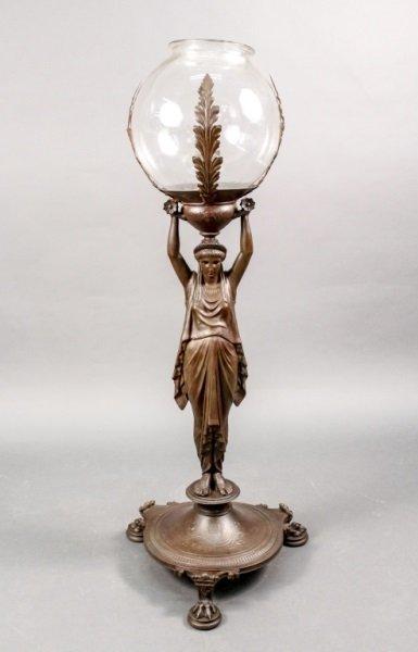 Levillian French Bronze Aquarium Bowl & Stand