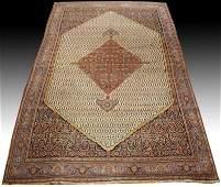 Hand Woven Palace Size Rug Persian Bidjar