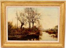 Henry John Yeend King Landscape Oil Painting