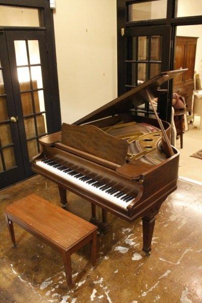 Knabe Walnut Baby Grand Piano, Circa 1915 - 3