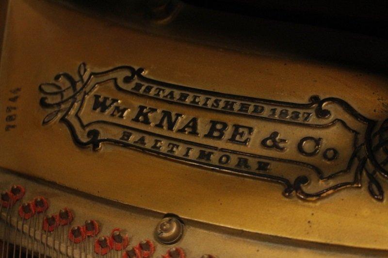 Knabe Walnut Baby Grand Piano, Circa 1915 - 4