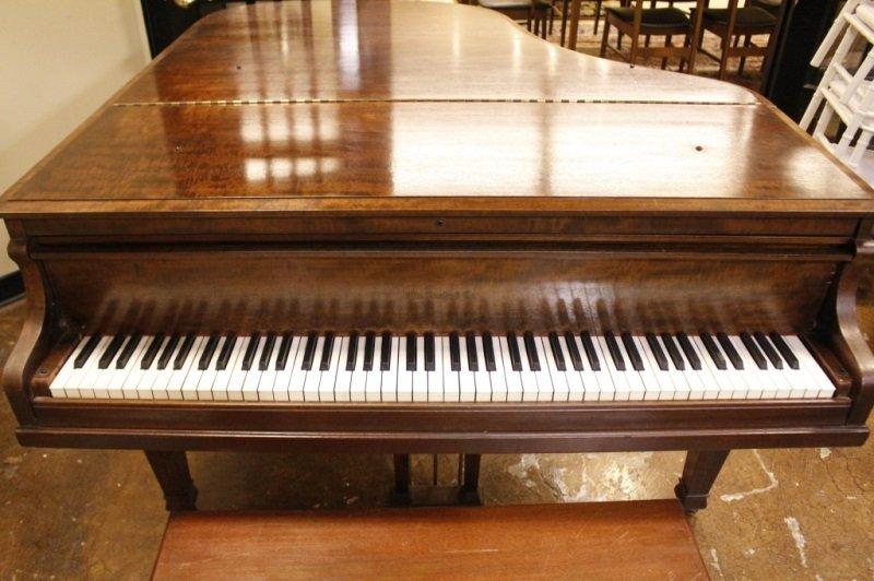 Knabe Walnut Baby Grand Piano, Circa 1915 - 9