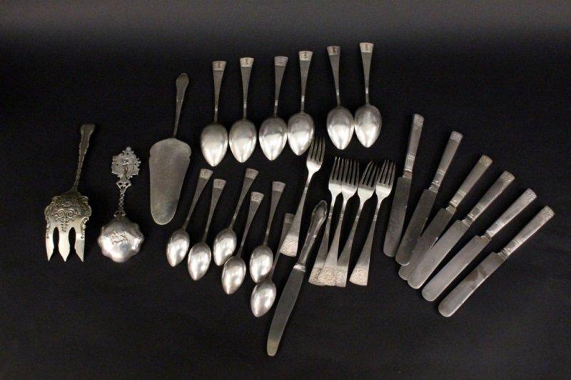 23 Piece Set of Gerlach Sterling Flatware - 3