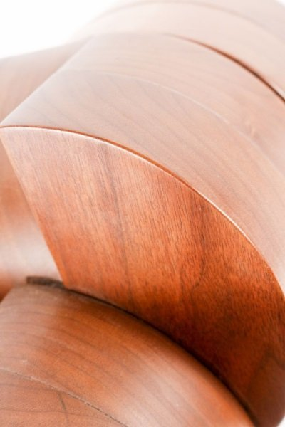 Wood & Metal Abstract Sculpture by Peter Risser - 9