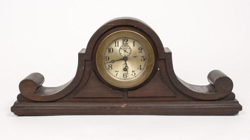 Chelsea Tambour Mantel Clock, Negus New York