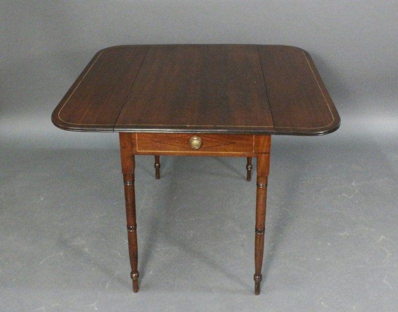 19th C. English Mahogany Pembroke Table