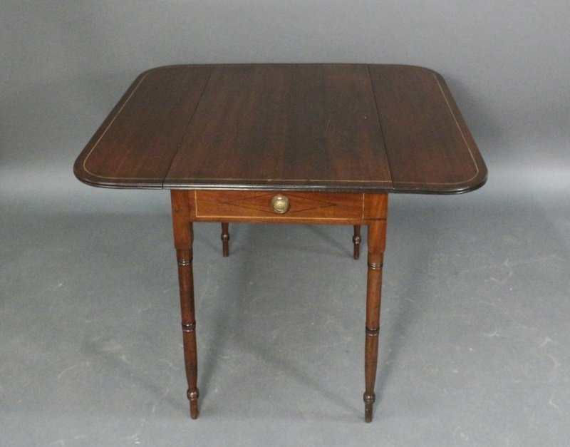 19th C. English Mahogany Pembroke Table