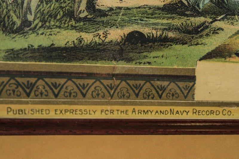 Civil War Union Soldier Hon. Discharge Certificate - 4