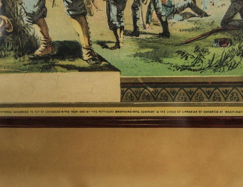 Civil War Union Soldier Hon. Discharge Certificate - 5
