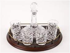 Set of Waterford Crystal Decanter & 6 Tumblers