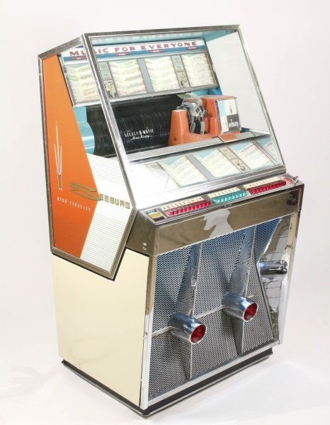 Seeburg Select-O-Matic Model 161 Jukebox c. 1958