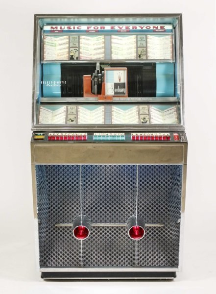 Seeburg Select-O-Matic Model 161 Jukebox c. 1958 - 2