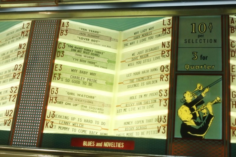 Seeburg Select-O-Matic Model 161 Jukebox c. 1958 - 4