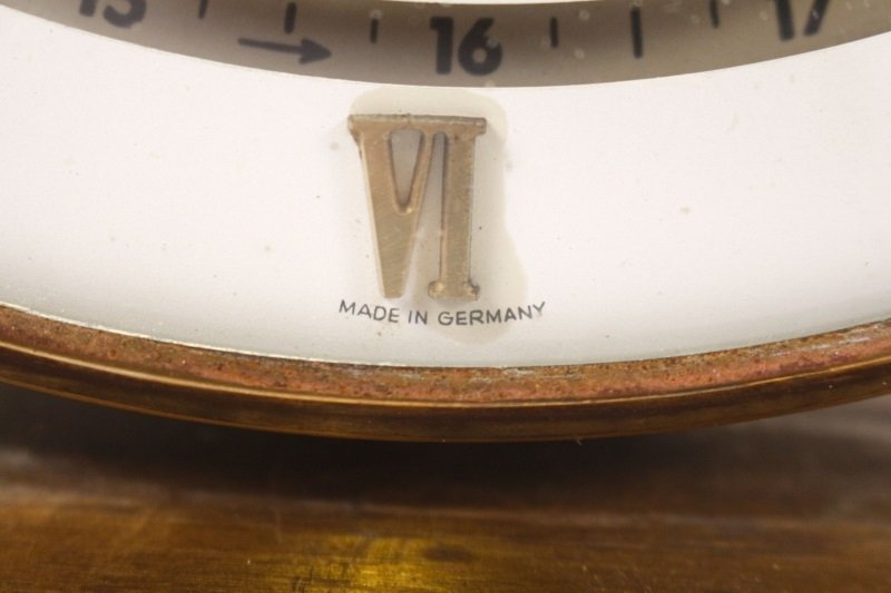 West German Kundo Desktop World Clock, c. 1960s - 3