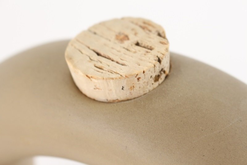 Hartstone Pottery Modern Ceramic Wine Chiller - 4