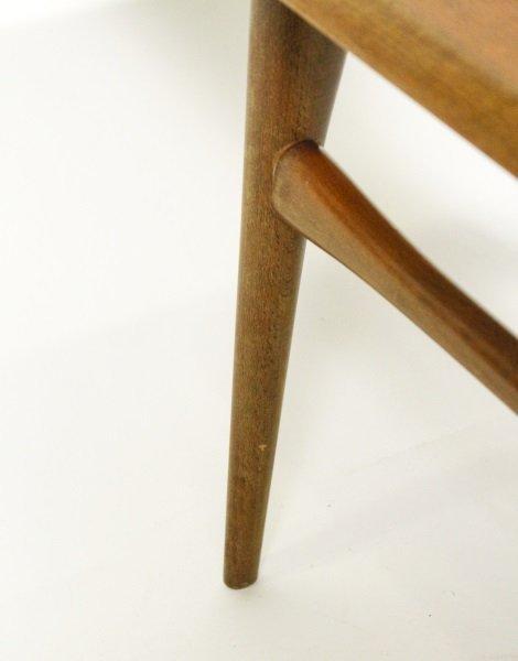 Selig Mid Century Modern Teak & Tiled Coffee Table - 4