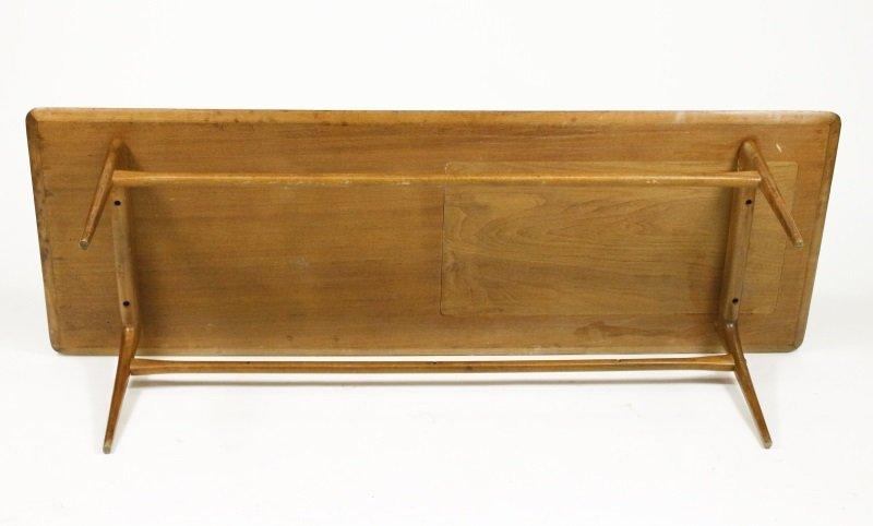 Selig Mid Century Modern Teak & Tiled Coffee Table - 6