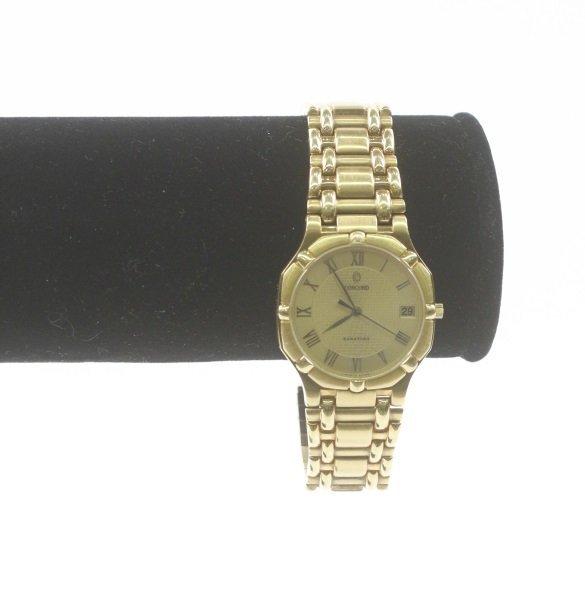 "Concord ""Saratoga"" 18k Yellow Gold Watch - 4"