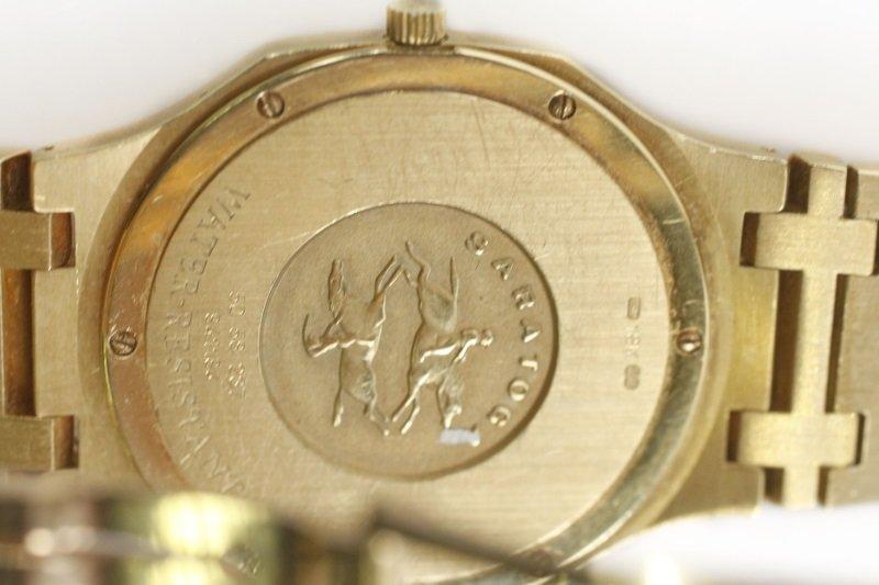 "Concord ""Saratoga"" 18k Yellow Gold Watch - 7"