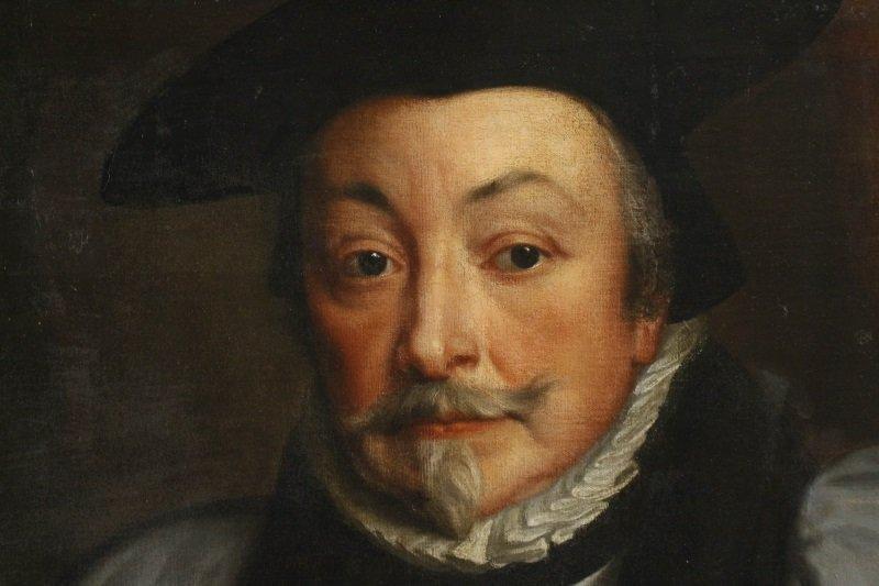 """Studio of Van Dyck, """"Portrait of Archbishop Laud"""" - 2"""