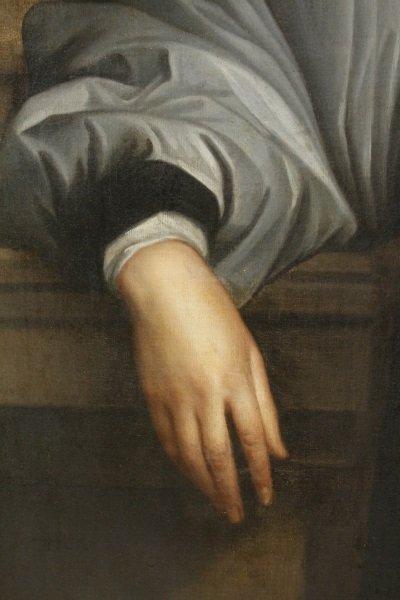 """Studio of Van Dyck, """"Portrait of Archbishop Laud"""" - 3"""