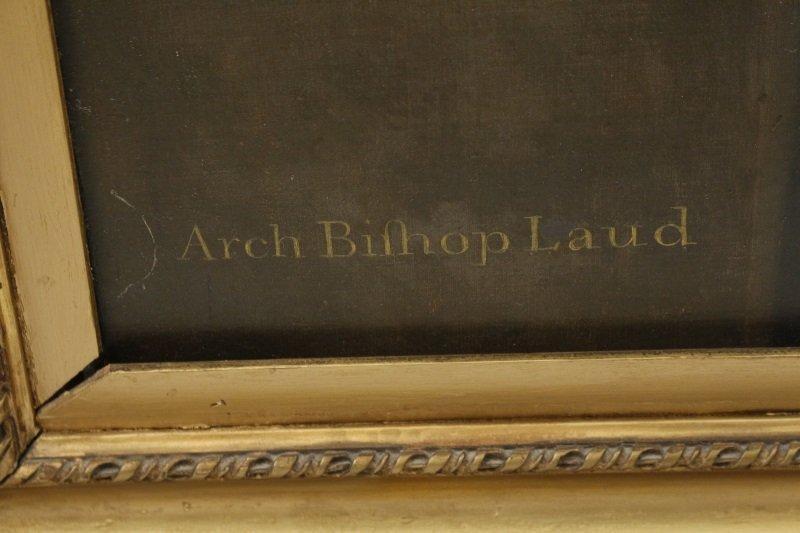 """Studio of Van Dyck, """"Portrait of Archbishop Laud"""" - 6"""