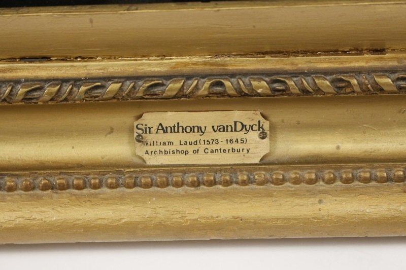 """Studio of Van Dyck, """"Portrait of Archbishop Laud"""" - 7"""
